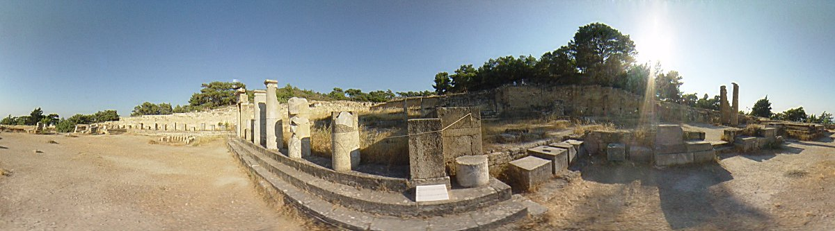Ancient Kamiros, late classical fountain, Ancient Kamiros Photo Image of Rhodes - Rodos - Rhodos island, Greece