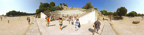Acropolis of Rhodes, Theater